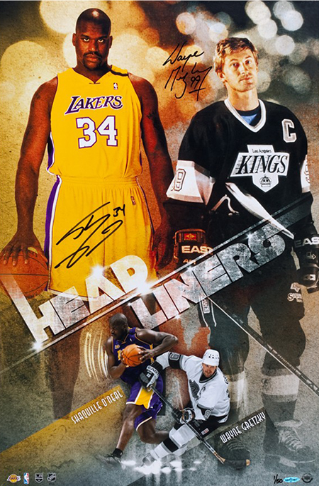 2015-wayne-gretzky-shaquille-oneal-autographed-headliners-print-83640