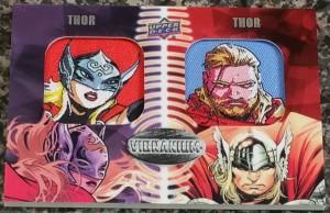 Vibranium - Thor x 2 Patch Card