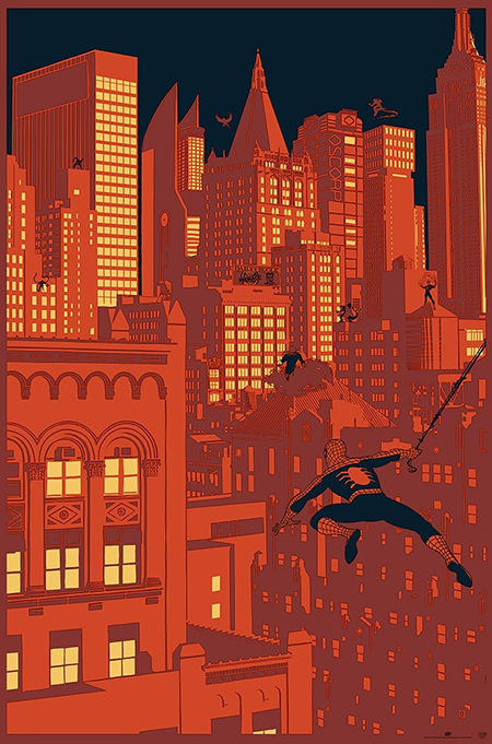 ud-gallery-marvel-poster-print-art-spider-man-vs-sinister-city-variant