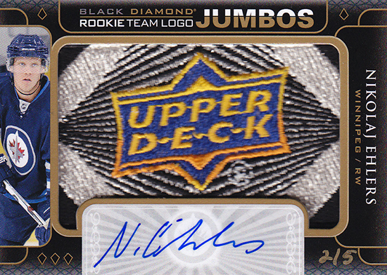2015-16-Upper-Deck-NHL-Black-Diamond-Nikolaj-Ehlers-Patch-Rookie