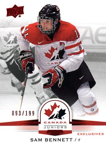 2015-16-Upper-Deck-Team-Canada-Top-Best-Rookie-Card-Sam-Bennett