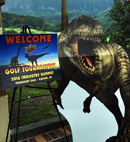 Hawaii-Trade-Show-Beckett-Upper-Deck-Golf-Tournament-Dinosaurs-1
