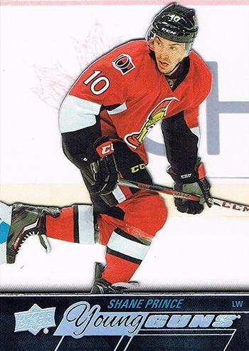 2015-16-NHL-Upper-Deck-Shane-Prince-Rookie-Card-Acetate-Young-Guns