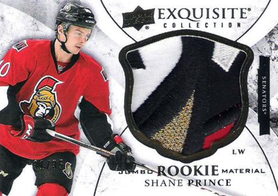 2015-16-NHL-Upper-Deck-Shane-Prince-Rookie-Card-Exquisite-Patch