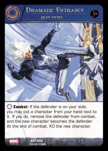2016-upper-deck-vs-system-2pcg-a-force-preview-card-marvel-dramatic-entrance-plot-twist