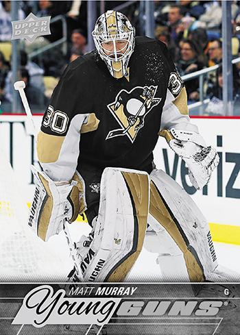 2015-16-NHL-Upper-Deck-Young-Guns-Update-Matt-Murray-Pittsburgh-Penguins-Rookie-Card