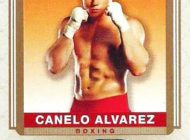 Canelo Alvarez Autograph Boxing Trading Cards Available from Upper Deck!