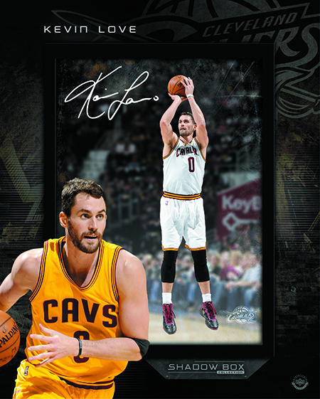 Upper-Deck-Authenticated-Exclusive-Signed-Autograph-Memorabilia-Kevin-Love-Cleveland-Cavaliers-Shadowbox