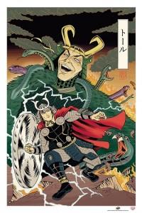 thor-japanese-woodblock-avengers-350