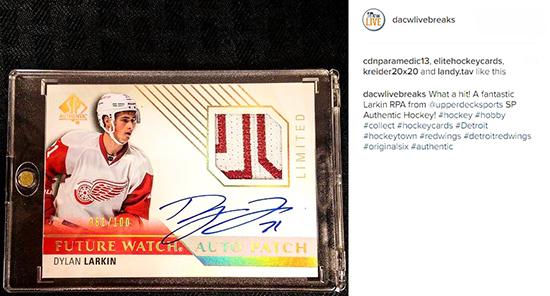 2015-16-NHL-SP-Authentic-Dylan-larkin-autograph-rookie-patch-dave-adams-live
