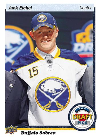 2016-Upper-Deck-NHL-Draft-Pick-Set-Jack-Eichel