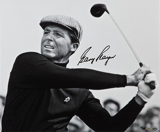 gary-player-autographed-up-close-personal-canvas-upper-deck-authenticated-signed-authentic