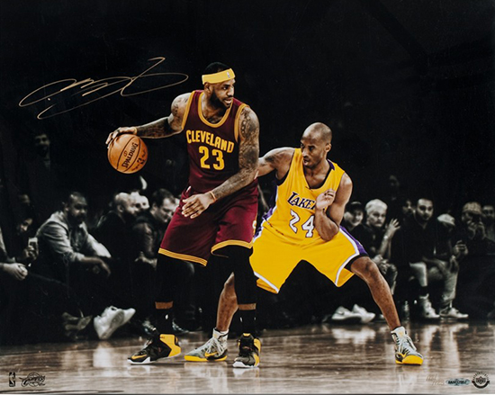 lebron-james-autographed-matchup-vs-kobe-bryant-photo-upper-deck-authenticated