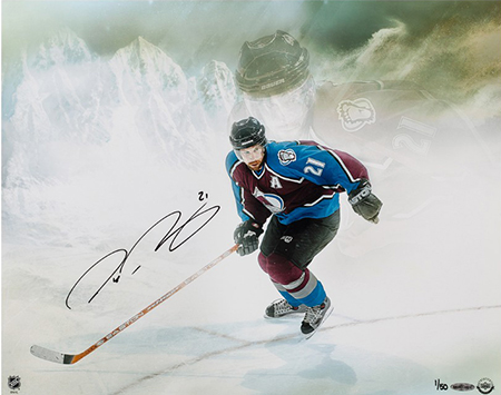 peter-forsberg-autographed-watcher-upper-deck-authenticated-colorado-avalanche