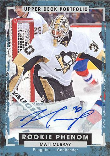 2015-16-Upper-Deck-NHL-Portfolio-Rookie-Phenom-Autograph-Matt-Murray