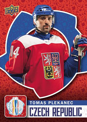 2016-Upper-Deck-World-Cup-of-Hockey-Promotional-Set-Tomas-Plekanec