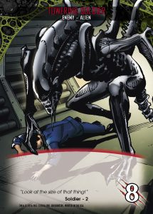 2016-upper-deck-card-preview-legendary-encounters-alien-expansion-card-soldier-towering-2-xenomorph