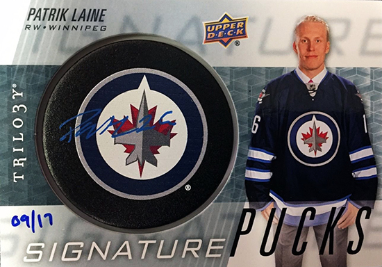 2016-17-upper-deck-trilogy-autograph-puck-rookie-card-patrik-laine
