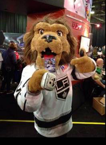 2017-NHL-All-Star-Fan-Fair-Weekend-Upper-Deck-Bailey-Personalized-Mascot-Card