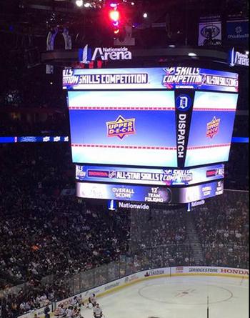 2017-NHL-All-Star-Fan-Fair-Weekend-Upper-Deck-Game-Activation-Sponsorship-Jumbotron