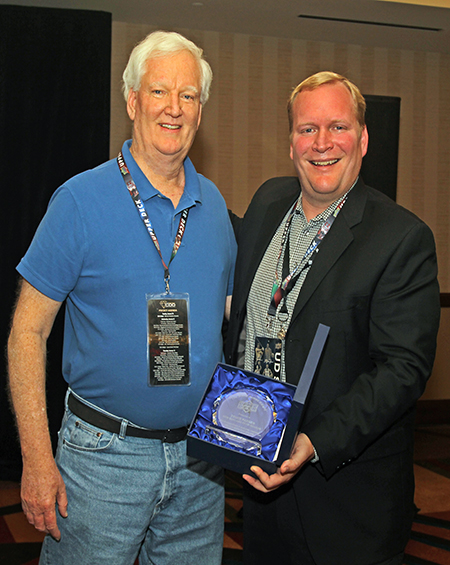 2017-Upper-Deck-Certified-Diamond-Conference-Steve-James-Award-Bruce-Parker-New-England-Sportscards