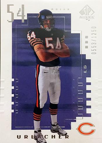 2000-Upper-Deck-SP-Authentic-Football-NFL-Best-Rookie-Cards-Brian-Urlacher