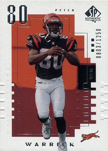 2000-Upper-Deck-SP-Authentic-Football-NFL-Best-Rookie-Cards-Peter-Warrick