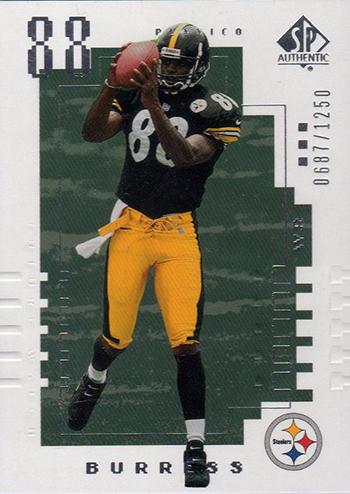 2000-Upper-Deck-SP-Authentic-Football-NFL-Best-Rookie-Cards-Plaxico-Burress