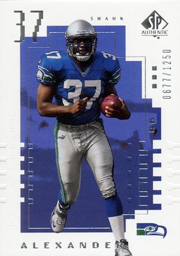 2000-Upper-Deck-SP-Authentic-Football-NFL-Best-Rookie-Cards-Shaun-Alexander