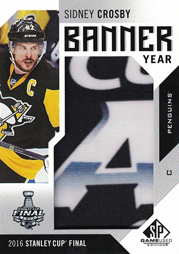 2016-17-NHL-SP-Game-Used-Banner-Year-Sidney-Crosby