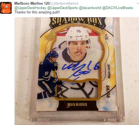 2016-17-NHL-SPx-Mitch-Marner-Autograph-Shadobox