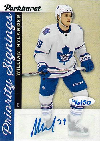 2016-17-NHL-Upper-Deck-Rookie-William-Nylander-Toronto-Parkhurst-Priority-Signings