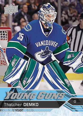 2016-17-NHL-Upper-Deck-Series-Two-Young-Guns-Rookie-Card-Thatcher-Demko