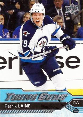 2016-17-NHL-Upper-Deck-Young-Guns-Patrik-Laine-Rookie-Card-Front