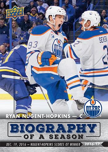 2016-17-Upper-Deck-NHL-Biography-of-a-Season-Edmonton-Oilers-Card6-Ryan-Nugent-Hopkins