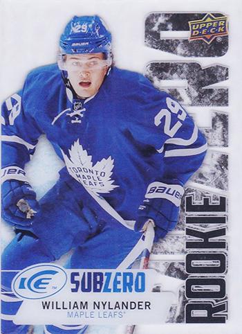 2016-17-NHL-Upper-Deck-Ice-Sub-Zero-High-Series-William-Nylander