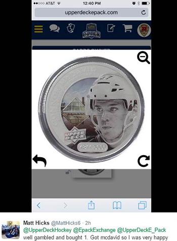 2017-Upper-Deck-Grandeur-Hockey-Coins-ePack-Connor-McDavid