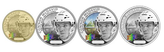 2017-Upper-Deck-Grandeur-NHLPA-CIBC-Hockey-Coins-ePack-Connor-McDavid