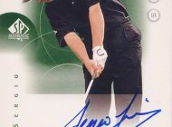 Looking Back at 2001 Upper Deck Sergio Garcia Rookie Cards