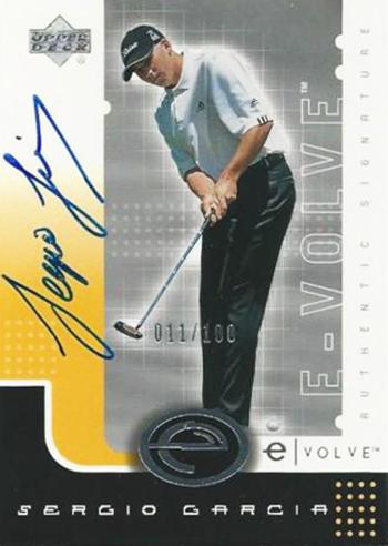 Sergio-Garcia-Masters-Champion-Upper-Deck-Evole-Autograph-Rookie-Card