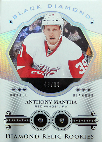 2016-17-NHL-Upper-Deck-Rookie-Card-Anthony-Mantha-Detroit-Red-Wings-Black-Diamond