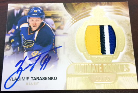 Upper-Deck-Ultimate-Collection-Rookie-Patch-Vladimir-Tarasenko