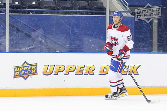 2017-NHLPA-Rookie-Showcase-Upper-Deck-Noah-Juulsen-Montreal-Canadiens-Skate
