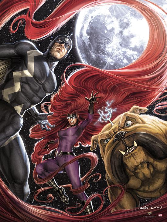 2017-Upper-Deck-September-Marvel-Inhumans-UDGallery-Fine-Art-Print-Variant-Moon