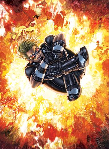 Upper-Deck-Gallery-Art-Print-Marvel-The-Inhumans-Caio-Cacau-cannonball-legendary-x-men