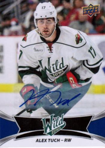 2016-17-Upper-Deck-AHL-Autograph-Iowa-Wild-Alex-Tuch