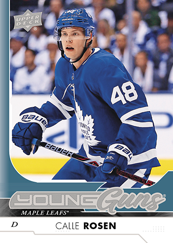 2017-18-NHL-Upper-Deck-Series-One-Young-Guns-Calle-Rosen