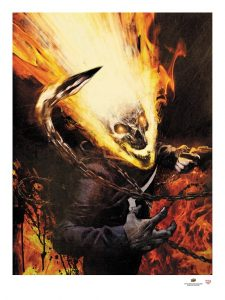 2017-Upper-Deck-Gallery-Art-Print-Ghost-Rider-Jason-Shawn-Alexander-Halloween-Variant