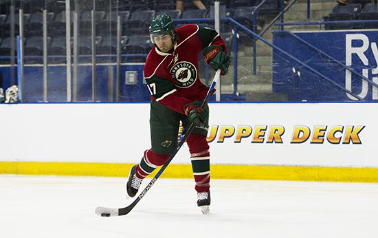 Upper-Deck-2016-NHLPA-Rookie-Showcase-Alex-Tuch-Las-Vegas-Golden-Knights-Minnesota-Wild-Ice-Shot