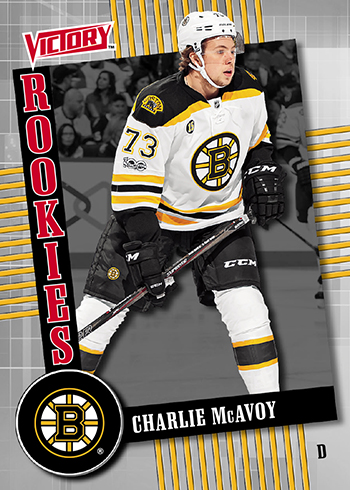 2017 18 nhl upper deck fall expo victory black charlie mcavoy
